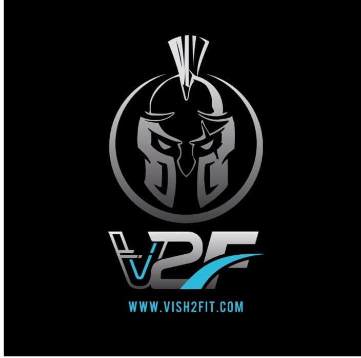 Vish2fit logo for Stripe